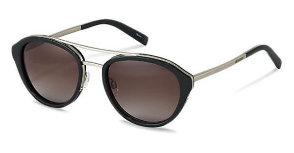 Jil Sander J1007 A brown gradient 84%black, silver