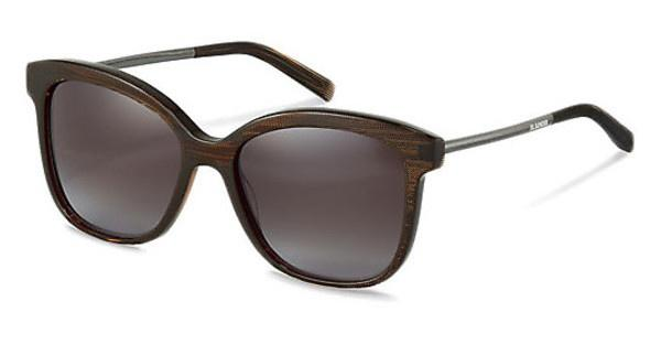Jil Sander J3012 C brown gradient 84%brown structured, gun