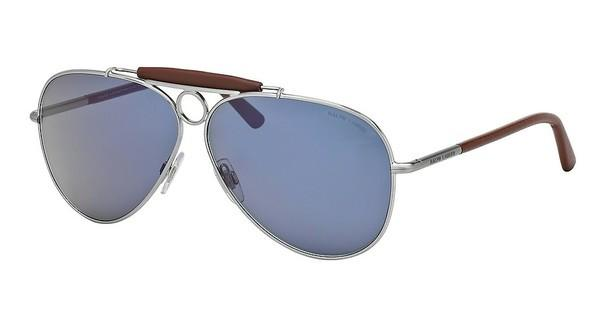 Polo PH3091Q 901056 BLUEMATTE BRUSCHED SILVER