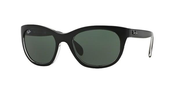 Ray-Ban RB4216 605271 GREENTOP MATTE BLACK ON TRASP