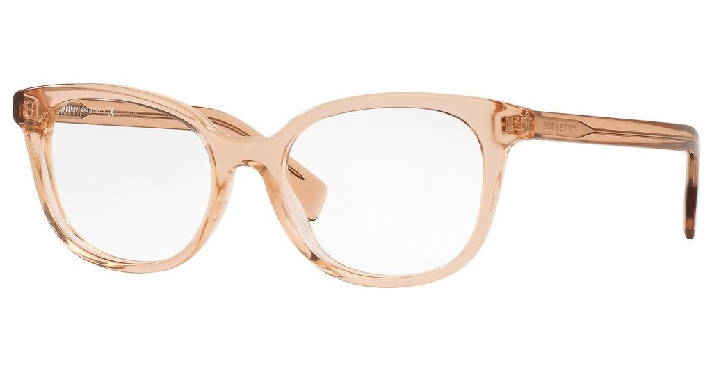 Burberry   BE2291 3358 TRANSPARENT PEACH
