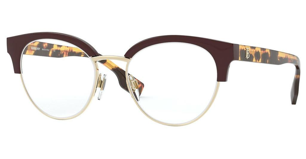 Burberry   BE2316 3869 BORDEAUX/PALE GOLD