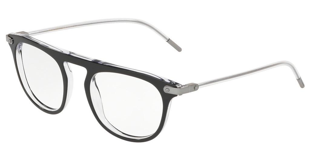Dolce & Gabbana   DG3318 675 BLACK ON CRYSTAL