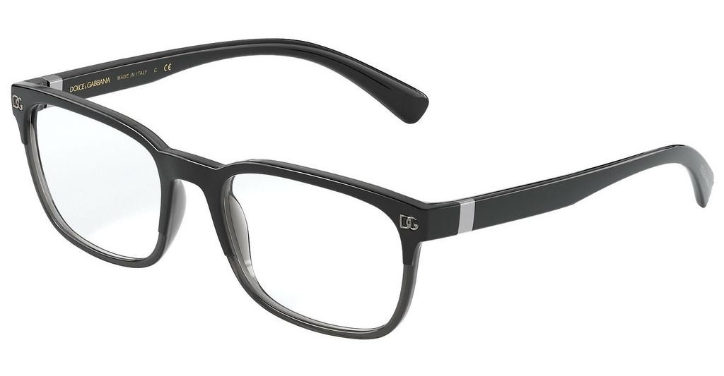 Dolce & Gabbana   DG5056 3275 TOP BLACK ON GREY