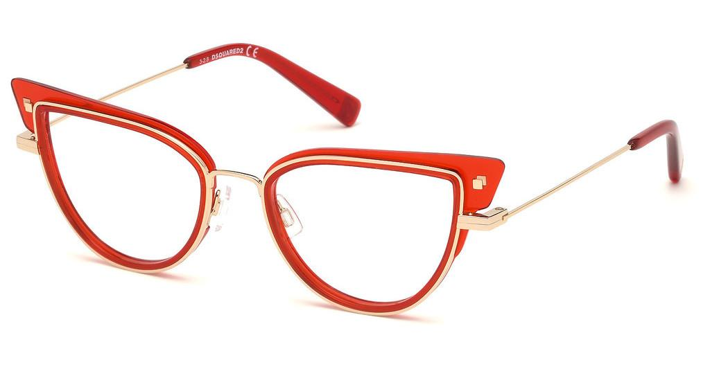 Dsquared   DQ5292 066 rot glanz