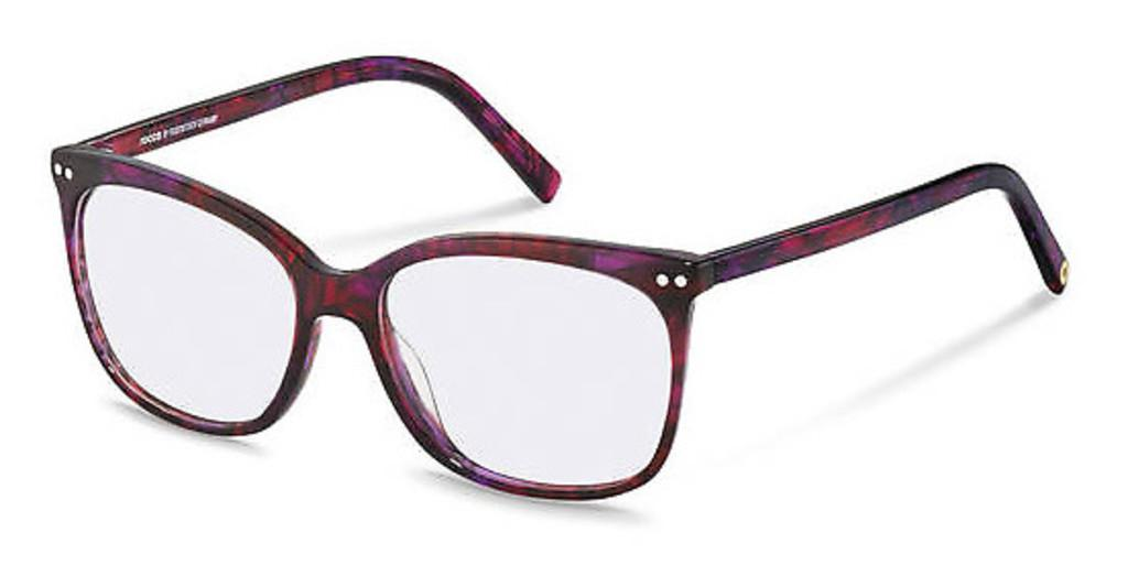 Rocco by Rodenstock   RR452 D red structured