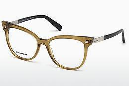 Designerglasögon Dsquared DQ5214 045 - Brun, Bright, Shiny