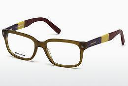 Designerglasögon Dsquared DQ5216 046 - Brun, Bright, Matt