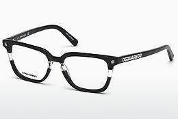 Designerglasögon Dsquared DQ5226 003 - Svart, Transparent