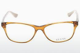 Designerglasögon Guess GU2513 045 - Brun, Bright, Shiny