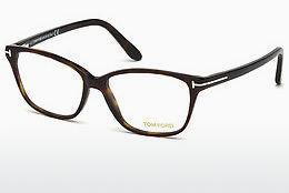 Designerglasögon Tom Ford FT5293 052 - Brun, Dark, Havana