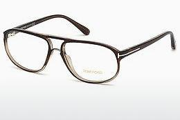 Designerglasögon Tom Ford FT5296 050 - Brun, Dark