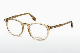 Designerglasögon Tom Ford FT5401 045 - Brun, Bright, Shiny