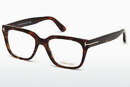 Designerglasögon Tom Ford FT5477 054 - Röd, Brun, Havanna