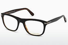 Designerglasögon Tom Ford FT5480 001 - Svart, Shiny