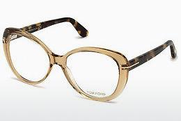 Designerglasögon Tom Ford FT5492 045 - Brun, Bright, Shiny