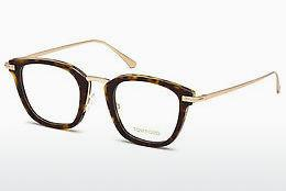 Designerglasögon Tom Ford FT5496 052 - Brun, Dark, Havana