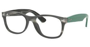 Ray-Ban RX5184 5800 GREY GREEN HAVANA