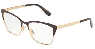 Dolce & Gabbana DG1310 1320 MATTE BROWN/GOLD