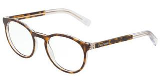 Dolce & Gabbana DG3309 757 TOP HAVANA ON CRYSTAL