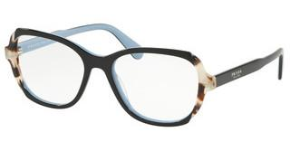 Prada PR 03VV KHR1O1 TOP BLACK/AZURE/SPOTTED BROWN