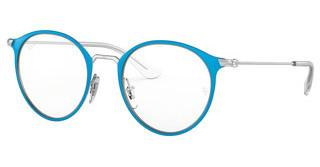 Ray-Ban Junior RY1053 4068 SILVER ON TOP LIGHT BLUE