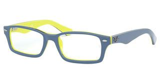 Ray-Ban Junior RY1530 3819 TOP BLUE ON YELLOW/BLACK