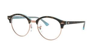 Ray-Ban RX4246V 5885 TOP HAVANA ON LIGHT BLUE