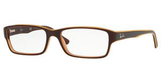 Ray-Ban RX5169 5817 TRASP LIGHT BROWN TOP YELLOW