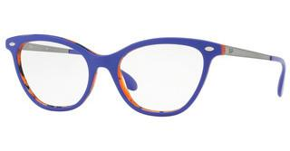 Ray-Ban RX5360 5716 TOP VIOLET ON HAVANA ORANGE