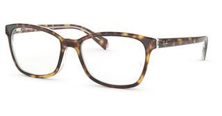 Ray-Ban RX5362 5082 TOP HAVANA ON TRANSPARENT