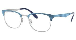 Ray-Ban RX6346 3022 MT SILVER TOP MATTE BLUE MOVE