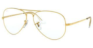 Ray-Ban RX6489 3086 LEGEND GOLD