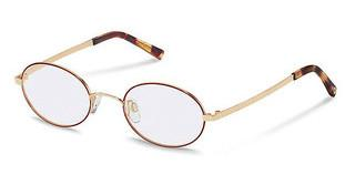 Rocco by Rodenstock RR214 D dark red, rose gold