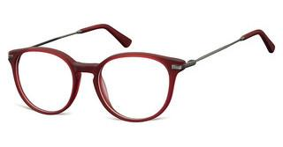 Sunoptic AC44 D Matt Dark Red/Matt Gunmetal