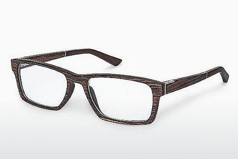 Designerglasögon Wood Fellas Maximilian (10901 ebony)