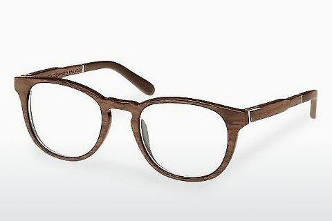 Designerglasögon Wood Fellas Bogenhausen (10911 walnut)