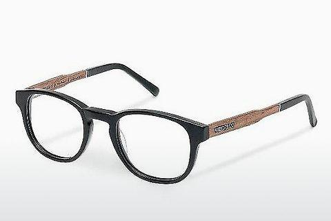 Designerglasögon Wood Fellas Bogenhausen (10926 walnut/black)
