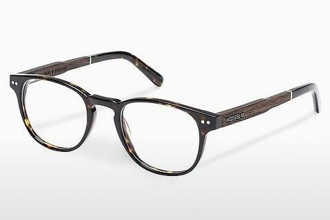 Designerglasögon Wood Fellas Sendling (10931 ebony/havana)