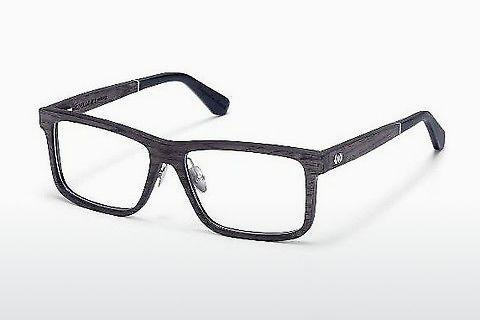 Designerglasögon Wood Fellas Eisenberg (10943 black oak)