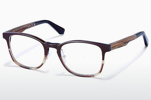 Designerglasögon Wood Fellas Friedenfels (10975 walnut)