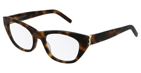 Designerglasögon Saint Laurent SL M80 002