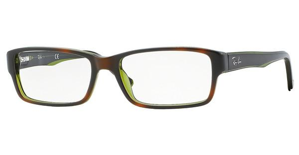 Ray-Ban   RX5169 2383 TOP HAVANA ON GREEN TRANSP.
