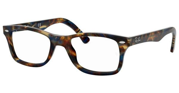 Ray-Ban   RX5228 5711 SPOTTED BLU/BROWN/YELLOW