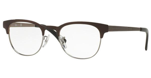 Ray-Ban   RX6317 2862 GUNMETAL ON TOP BRUSHED BROWN