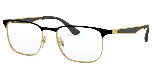 Ray-Ban   RX6363 2890 GOLD TOP ON BLACK