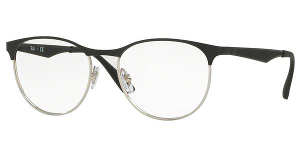 Ray-Ban   RX6365 2861 SILVER TOP ON BLACK