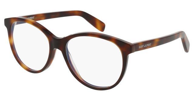 Saint Laurent SL 163 Eyeglasses 002 Havana 53 mm