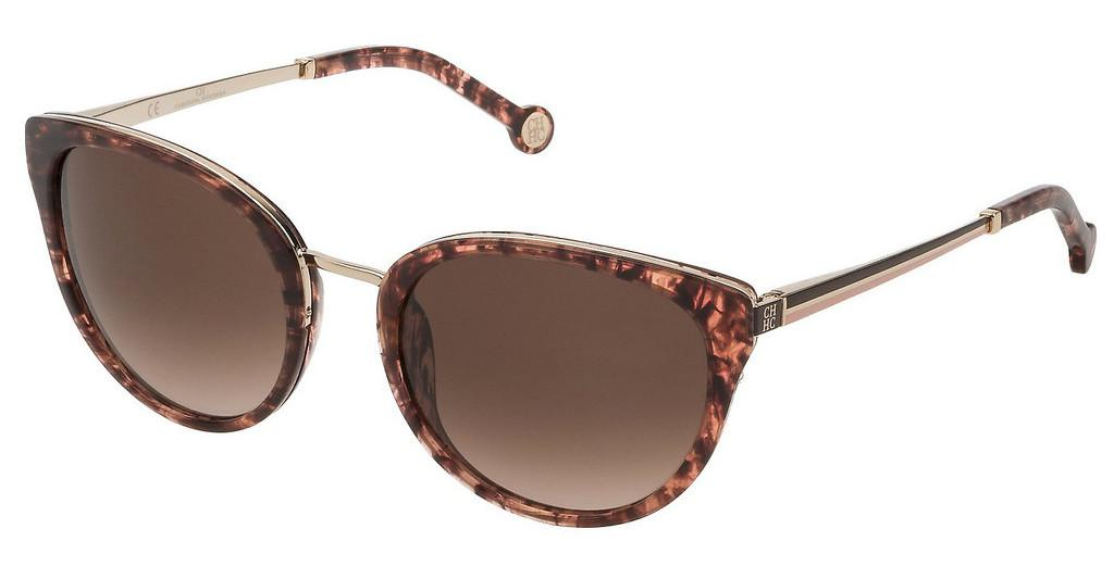 Carolina Herrera   SHE120 01GQ BROWN GRADIENT PINKAVANA MARRONE/ROSA