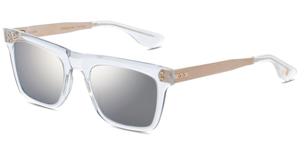 DITA   DTS-120 03 Dark Grey - Milky Gold Flash - ARCrystal Clear - White Gold